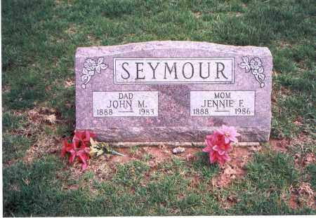 SEYMOUR, JENNIE F. - Franklin County, Ohio | JENNIE F. SEYMOUR - Ohio Gravestone Photos