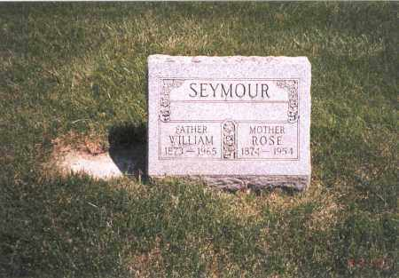 SEYMOUR, WILLIAM - Franklin County, Ohio | WILLIAM SEYMOUR - Ohio Gravestone Photos