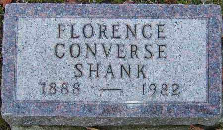 CONVERSE SHANK, FLORENCE - Franklin County, Ohio | FLORENCE CONVERSE SHANK - Ohio Gravestone Photos