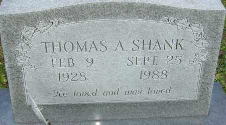 SHANK, THOMAS - Franklin County, Ohio | THOMAS SHANK - Ohio Gravestone Photos
