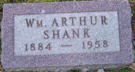 SHANK, WILLIAM ARTHUR - Franklin County, Ohio | WILLIAM ARTHUR SHANK - Ohio Gravestone Photos