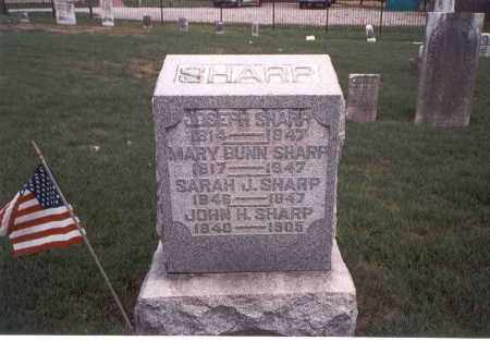 SHARP, SARAH J. - Franklin County, Ohio | SARAH J. SHARP - Ohio Gravestone Photos