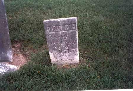 SHARP, SARAH JANE - Franklin County, Ohio | SARAH JANE SHARP - Ohio Gravestone Photos