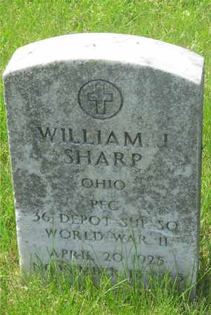 SHARP, WILLIAM J. - Franklin County, Ohio | WILLIAM J. SHARP - Ohio Gravestone Photos