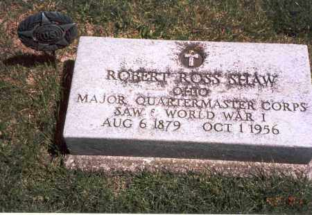 SHAW, ROBERT ROSS - Franklin County, Ohio | ROBERT ROSS SHAW - Ohio Gravestone Photos