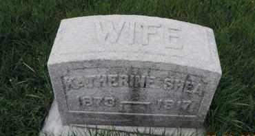 SHEA, KATHERINE - Franklin County, Ohio | KATHERINE SHEA - Ohio Gravestone Photos