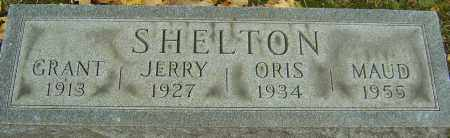 SHELTON, ORIS - Franklin County, Ohio | ORIS SHELTON - Ohio Gravestone Photos