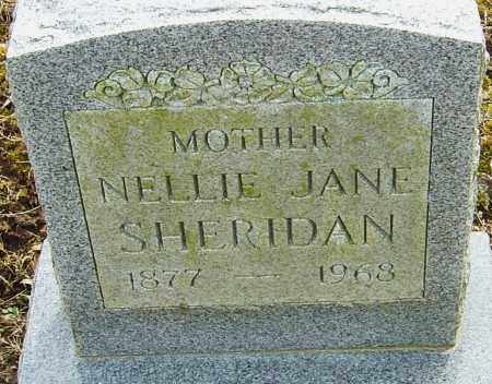 SHERIDAN, NELLIE JANE - Franklin County, Ohio | NELLIE JANE SHERIDAN - Ohio Gravestone Photos