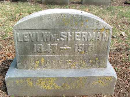SHERMAN, LEVI - Franklin County, Ohio | LEVI SHERMAN - Ohio Gravestone Photos