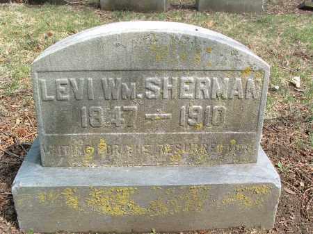 SHERMAN, LEVI - Franklin County, Ohio   LEVI SHERMAN - Ohio Gravestone Photos