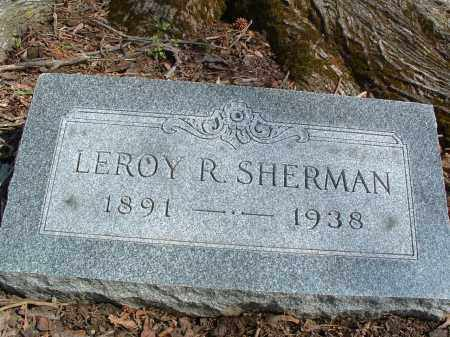 SHERMAN, LEROY - Franklin County, Ohio | LEROY SHERMAN - Ohio Gravestone Photos
