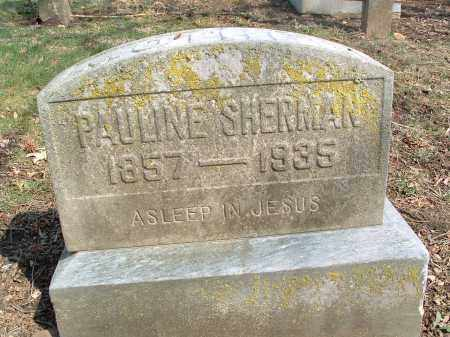SHERMAN, PAULINE - Franklin County, Ohio | PAULINE SHERMAN - Ohio Gravestone Photos