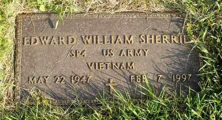 SHERRILL, EDWARD WILLIAM - Franklin County, Ohio | EDWARD WILLIAM SHERRILL - Ohio Gravestone Photos