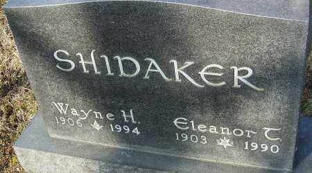 TURNER SHIDAKER, ELEANOR - Franklin County, Ohio | ELEANOR TURNER SHIDAKER - Ohio Gravestone Photos