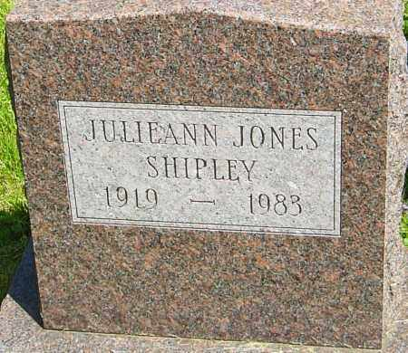 SHIPLEY, JULIEANN - Franklin County, Ohio | JULIEANN SHIPLEY - Ohio Gravestone Photos