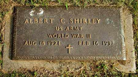SHIRLEY, ALBERT C. - Franklin County, Ohio | ALBERT C. SHIRLEY - Ohio Gravestone Photos