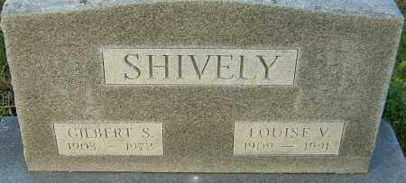 SHIVELY, GILBERT - Franklin County, Ohio | GILBERT SHIVELY - Ohio Gravestone Photos