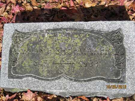 SHOEMAKER, ELIAS FASSETT - Franklin County, Ohio | ELIAS FASSETT SHOEMAKER - Ohio Gravestone Photos