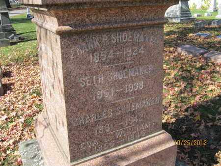 SHOEMAKER, FRANKLIN PIERCE - Franklin County, Ohio | FRANKLIN PIERCE SHOEMAKER - Ohio Gravestone Photos