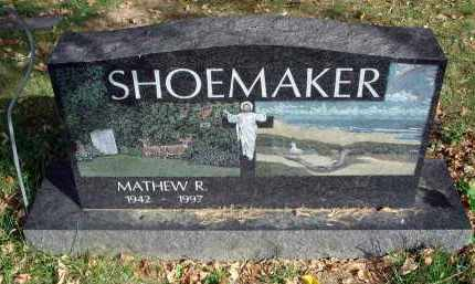 SHOEMAKER, MATHEW R. - Franklin County, Ohio | MATHEW R. SHOEMAKER - Ohio Gravestone Photos