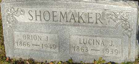 HALL SHOEMAKER, LUCINA - Franklin County, Ohio | LUCINA HALL SHOEMAKER - Ohio Gravestone Photos