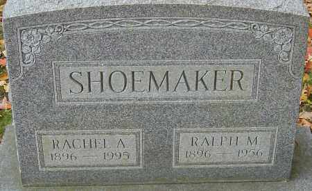 SHOEMAKER, RACHEL ANN - Franklin County, Ohio | RACHEL ANN SHOEMAKER - Ohio Gravestone Photos
