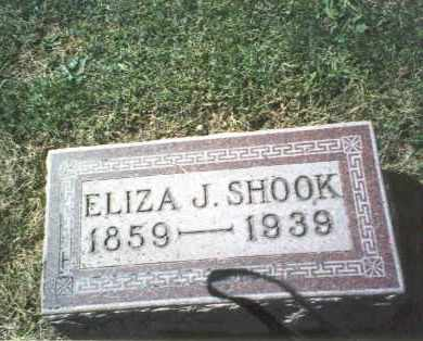 SHOOK, ELIZA J. - Franklin County, Ohio | ELIZA J. SHOOK - Ohio Gravestone Photos
