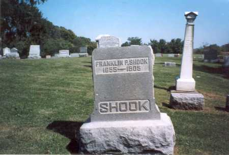 SHOOK, FRANKLIN P. - Franklin County, Ohio | FRANKLIN P. SHOOK - Ohio Gravestone Photos