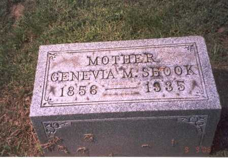 RAREY SHOOK, GENEVIA M. - Franklin County, Ohio | GENEVIA M. RAREY SHOOK - Ohio Gravestone Photos