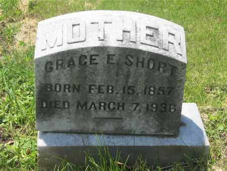 SHORT, GRACE E. - Franklin County, Ohio | GRACE E. SHORT - Ohio Gravestone Photos