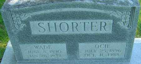 SHORTER, WADE - Franklin County, Ohio | WADE SHORTER - Ohio Gravestone Photos