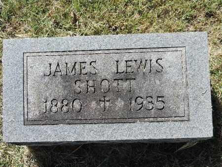 SHOTT, JAMES LEWIS - Franklin County, Ohio | JAMES LEWIS SHOTT - Ohio Gravestone Photos