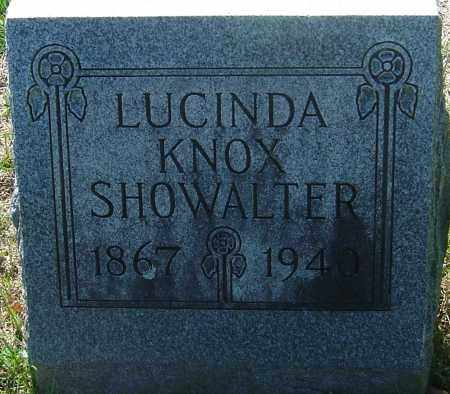 KNOX SHOWALTER, LUCINDA - Franklin County, Ohio | LUCINDA KNOX SHOWALTER - Ohio Gravestone Photos