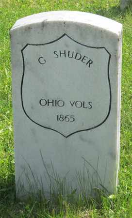 SHUDER, G. - Franklin County, Ohio | G. SHUDER - Ohio Gravestone Photos