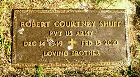 SHUFF, ROBERT COURTNEY - Franklin County, Ohio | ROBERT COURTNEY SHUFF - Ohio Gravestone Photos