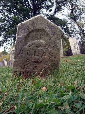SHUMAN, ALLAS - Franklin County, Ohio | ALLAS SHUMAN - Ohio Gravestone Photos
