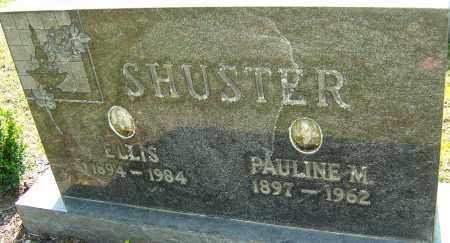 SHUSTER, PAULINE - Franklin County, Ohio | PAULINE SHUSTER - Ohio Gravestone Photos