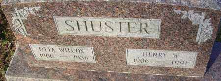 SHUSTER, OTTA - Franklin County, Ohio | OTTA SHUSTER - Ohio Gravestone Photos