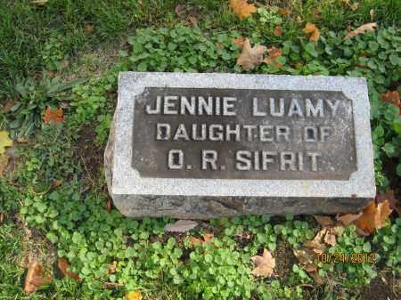 SIFRIT, JENNIE LUAMY - Franklin County, Ohio | JENNIE LUAMY SIFRIT - Ohio Gravestone Photos