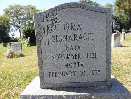 SIGNARACCI, IRMA - Franklin County, Ohio | IRMA SIGNARACCI - Ohio Gravestone Photos