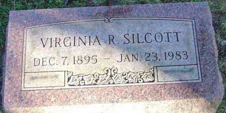 SILCOTT, VIRGINIA R - Franklin County, Ohio | VIRGINIA R SILCOTT - Ohio Gravestone Photos
