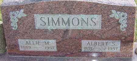 SIMMONS, ALBERT - Franklin County, Ohio | ALBERT SIMMONS - Ohio Gravestone Photos