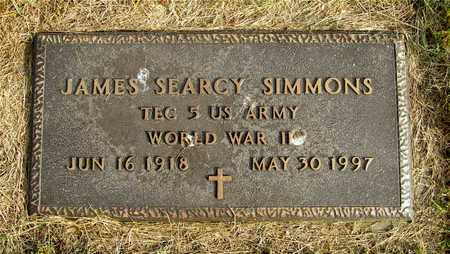 SIMMONS, JAMES SEARCY - Franklin County, Ohio | JAMES SEARCY SIMMONS - Ohio Gravestone Photos