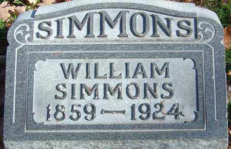 SIMMONS, WILLIAM - Franklin County, Ohio | WILLIAM SIMMONS - Ohio Gravestone Photos