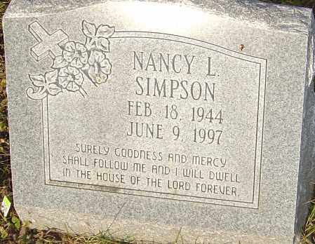SIMPSON, NANCY - Franklin County, Ohio | NANCY SIMPSON - Ohio Gravestone Photos