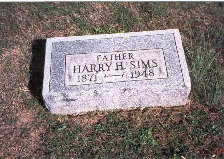 SIMS, HARRY H. - Franklin County, Ohio | HARRY H. SIMS - Ohio Gravestone Photos