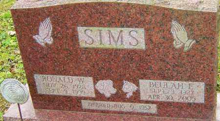 SIMS, RONALD - Franklin County, Ohio | RONALD SIMS - Ohio Gravestone Photos