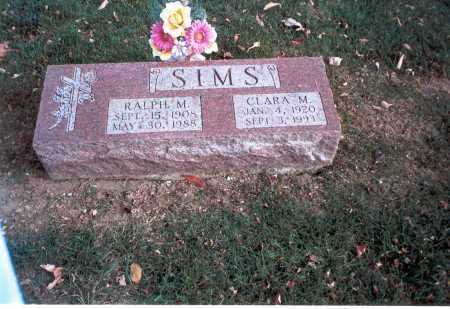 SIMS, CLARA M. - Franklin County, Ohio | CLARA M. SIMS - Ohio Gravestone Photos