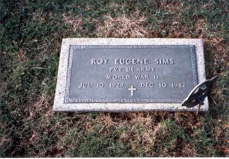 SIMS, ROY EUGENE - Franklin County, Ohio | ROY EUGENE SIMS - Ohio Gravestone Photos