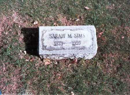CHEESEMAN SIMS, SARAH M. - Franklin County, Ohio | SARAH M. CHEESEMAN SIMS - Ohio Gravestone Photos